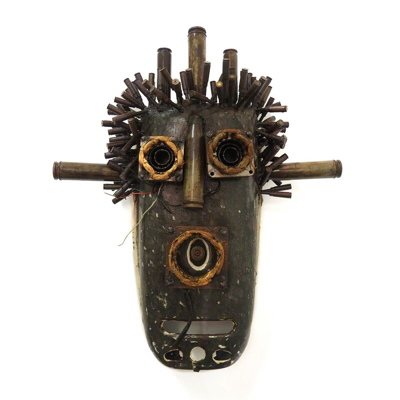 Gonçalo Mabunda, 'The Shany Man', 2016, Sculpture, Recycled iron weapons of the civil war, Collectionair