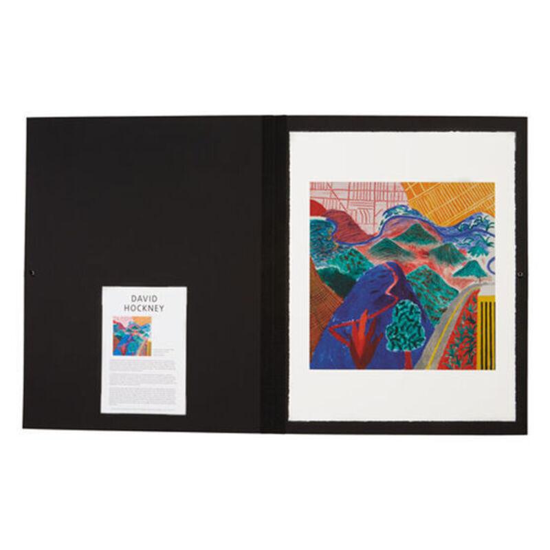 David Hockney, ''Outpost Drive, Hollywood' Portfolio Edition', 2017, Print, Giclee Print, Mr & Mrs Clark's