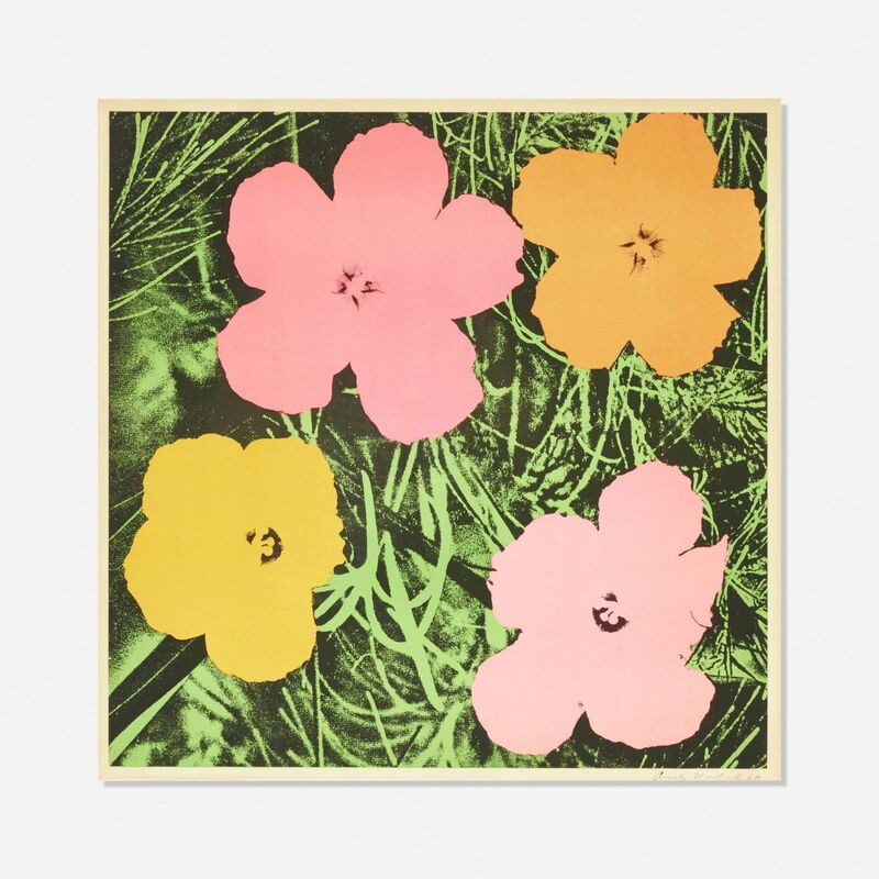 Andy Warhol, 'Flowers', 1964, Print, Offset lithograph on paper, Rago/Wright/LAMA