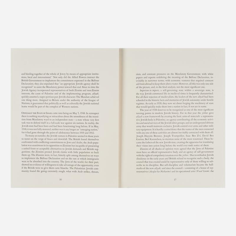 Salvador Dalí, 'Aliyah', 1968, Print, Twenty-five lithographs in color on Japon paper (in cloth portfolio), Rago/Wright