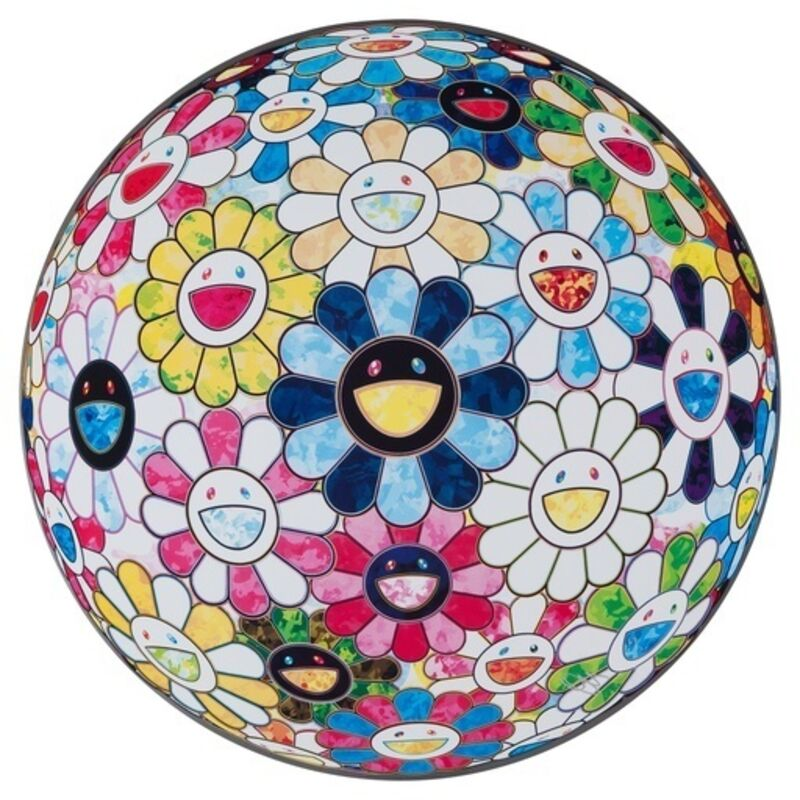 Takashi Murakami, 'The Flowerball's Painterly Challenge', 2016, Print, Offset lithograph, Dope! Gallery