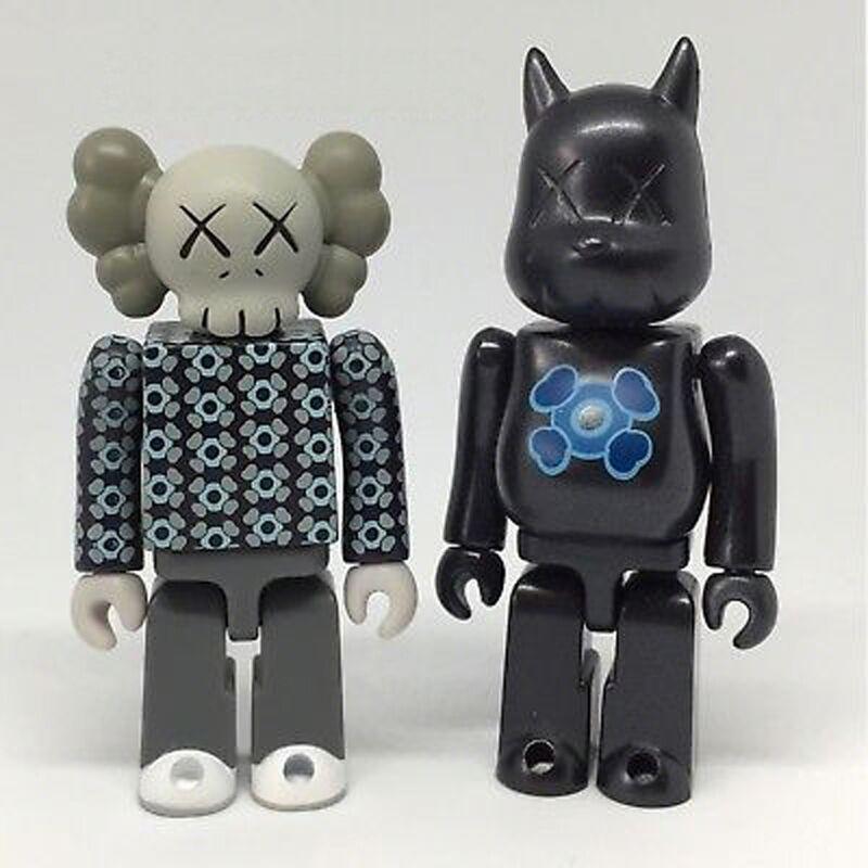 KAWS, '100% Kubrick pair', 2002, Sculpture, Plastic, EHC Fine Art Gallery Auction