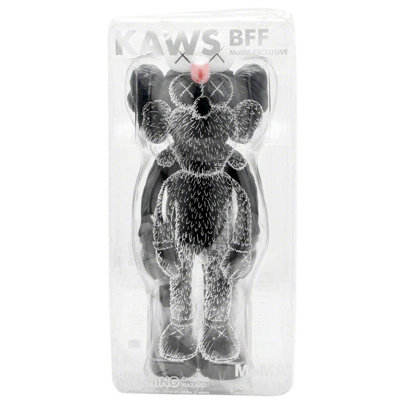KAWS, 'BFF (Black)', 2017, Sculpture, Painted Cast Vinyl, Lougher Contemporary