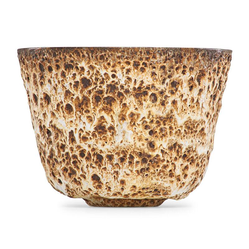 Gertrud Natzler, 'Straight-walled vessel, volcanic glaze, Los Angeles, CA', Design/Decorative Art, Glazed earthenware, Rago/Wright/LAMA