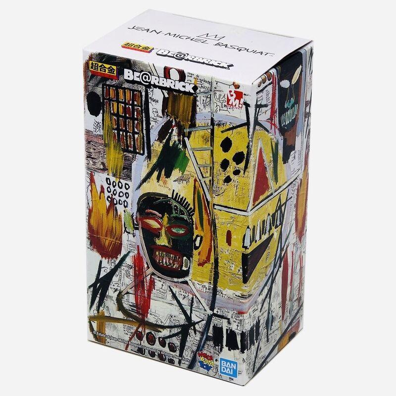Jean-Michel Basquiat, 'Basquiat Bearbrick 200% Companion (Basquiat BE@RBRICK)', 2018, Ephemera or Merchandise, Alloy metal die-cast figure, Lot 180