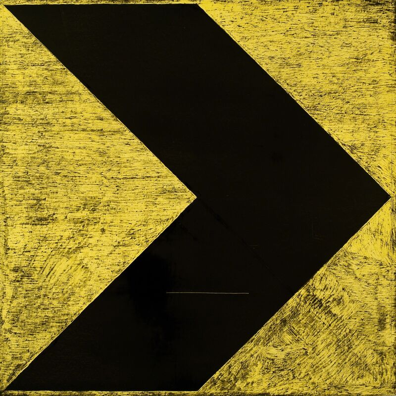 Paulo Quintas, 'Not that yellow, Vincent XII', 2010, Painting, Vohn Gallery
