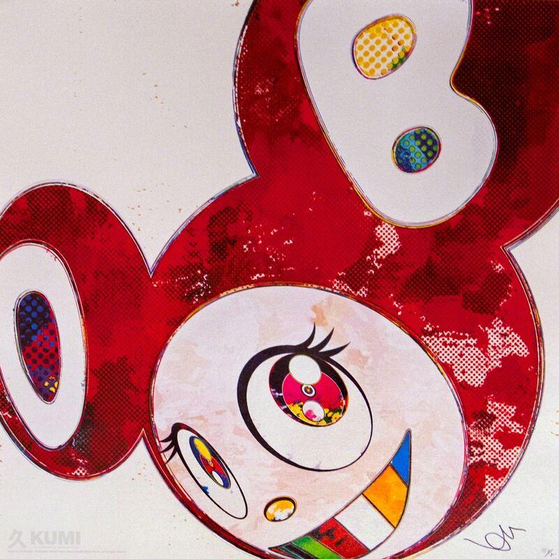 Takashi Murakami, 'And Then x6 Vermillion', 2013, Print, Lithograph, Kumi Contemporary / Verso Contemporary