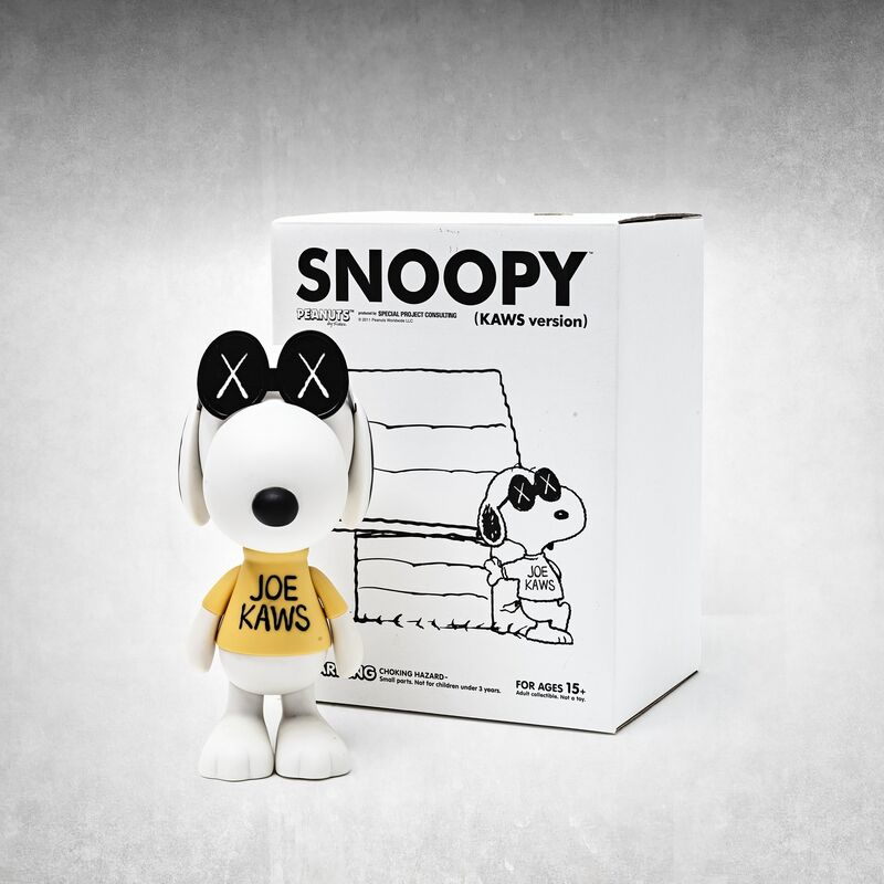 KAWS, 'Joe Kaws (Snoopy)', 2012, Ephemera or Merchandise, Painted cast vinyl sculpture, Tate Ward Auctions