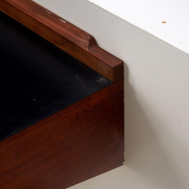 Arne Hovmand Olsen, 'Wall-Shelf/Server, Denmark', 1960s, Design/Decorative Art, Teak, Laminate, Brass, Rago/Wright