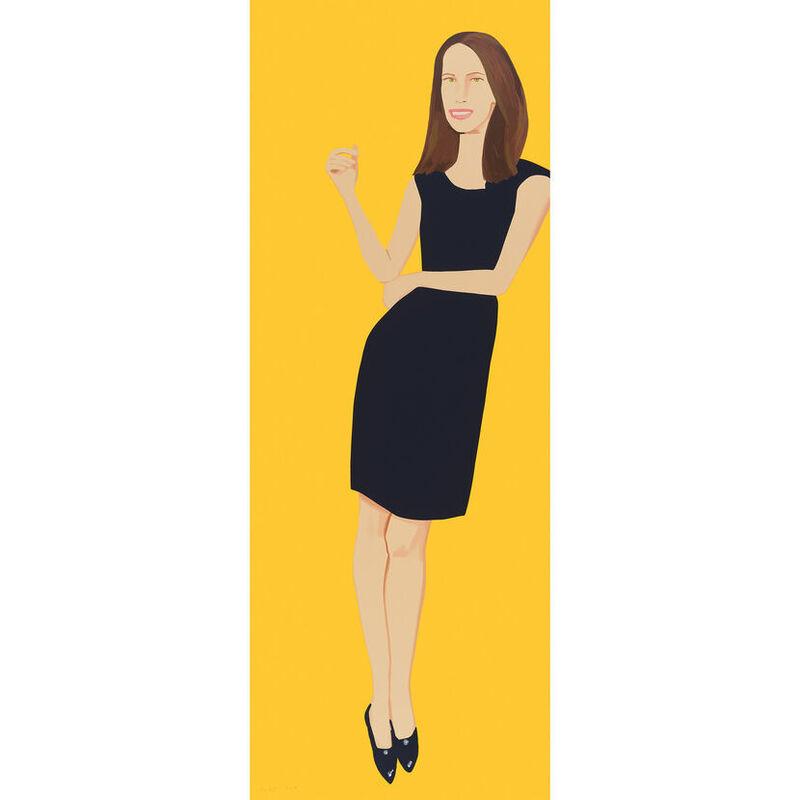 Alex Katz, 'Alex Katz, Black Dress (Christy)', 2015, Print, Silkscreen, Oliver Cole Gallery