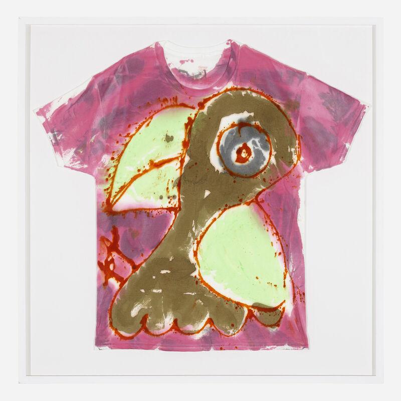 Katherine Bernhardt, 'Untitled (t-shirt)', 2019, Fashion Design and Wearable Art, Acrylic on cotton t-shirt, Rago/Wright/LAMA