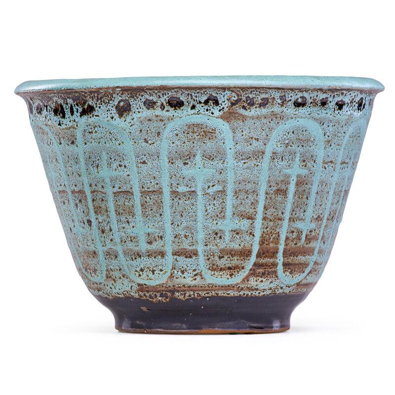 Maija Grotell, 'Bowl With Abstract Design, Bloomfield Hills, MI', Design/Decorative Art, Rago/Wright