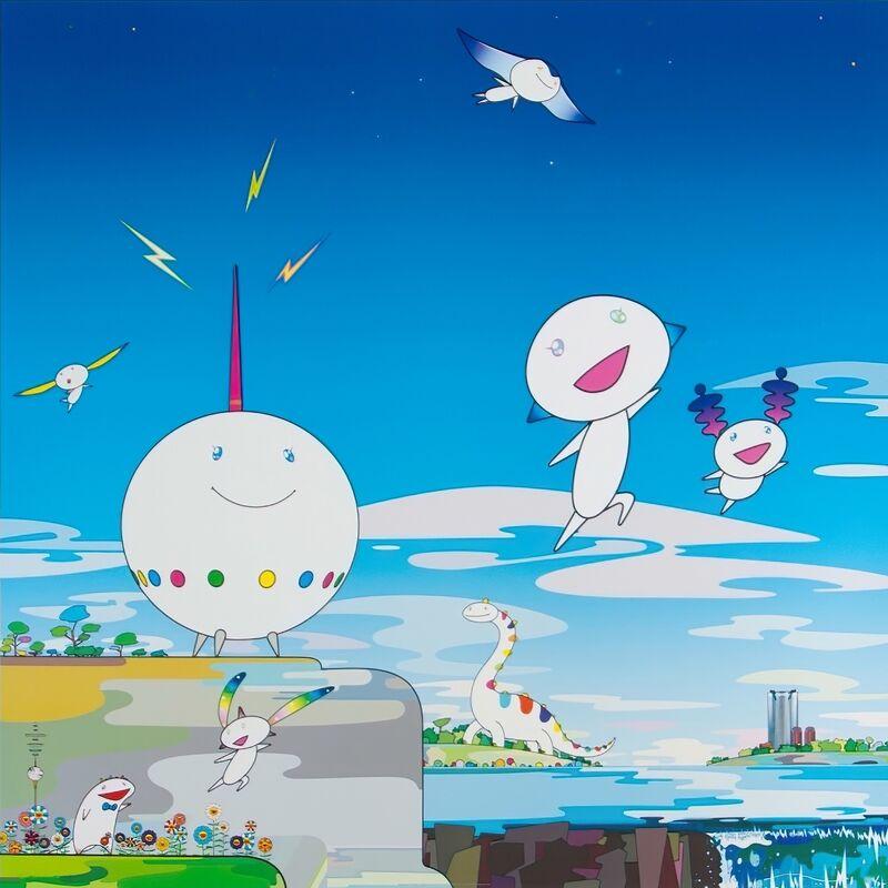 Takashi Murakami, 'Planet 66', 2004, Print, Offset print, Pinto Gallery