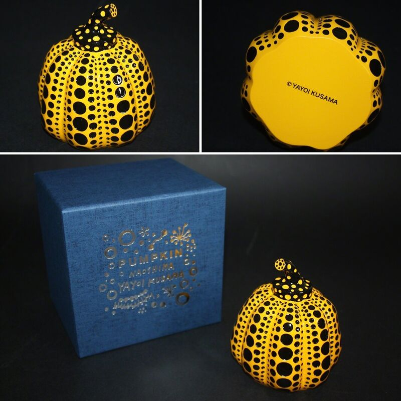 Yayoi Kusama, 'Pumpkin (Yellow and Black)', 2014/2015, Sculpture, Painted cast resin, Lougher Contemporary