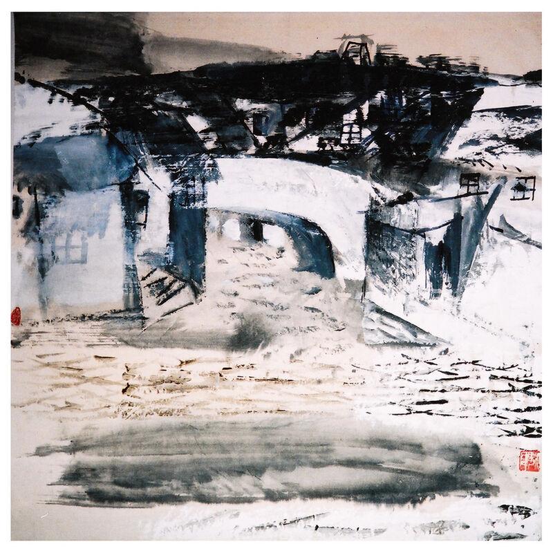 Zhang Jian-Jun 張健君, 'Jiangnan Landscape IV 江南風景-四', 1987, Painting, Chinese ink & acrylic on paper, Alisan Fine Arts