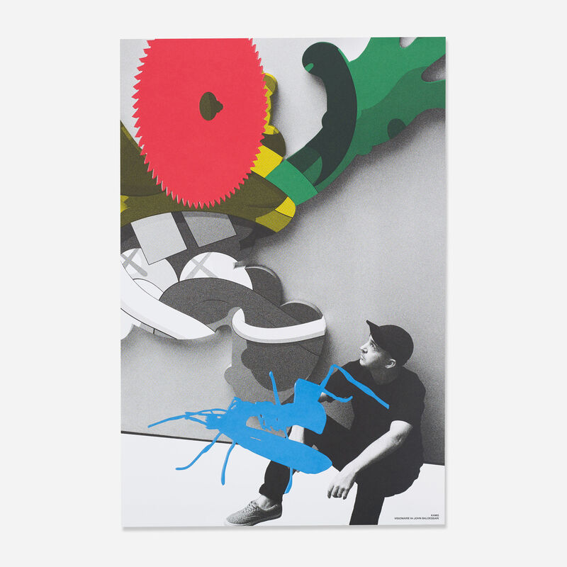 John Baldessari, 'KAWS ', 2014, Print, Offset lithograph and screen print on paper, End to End Gallery