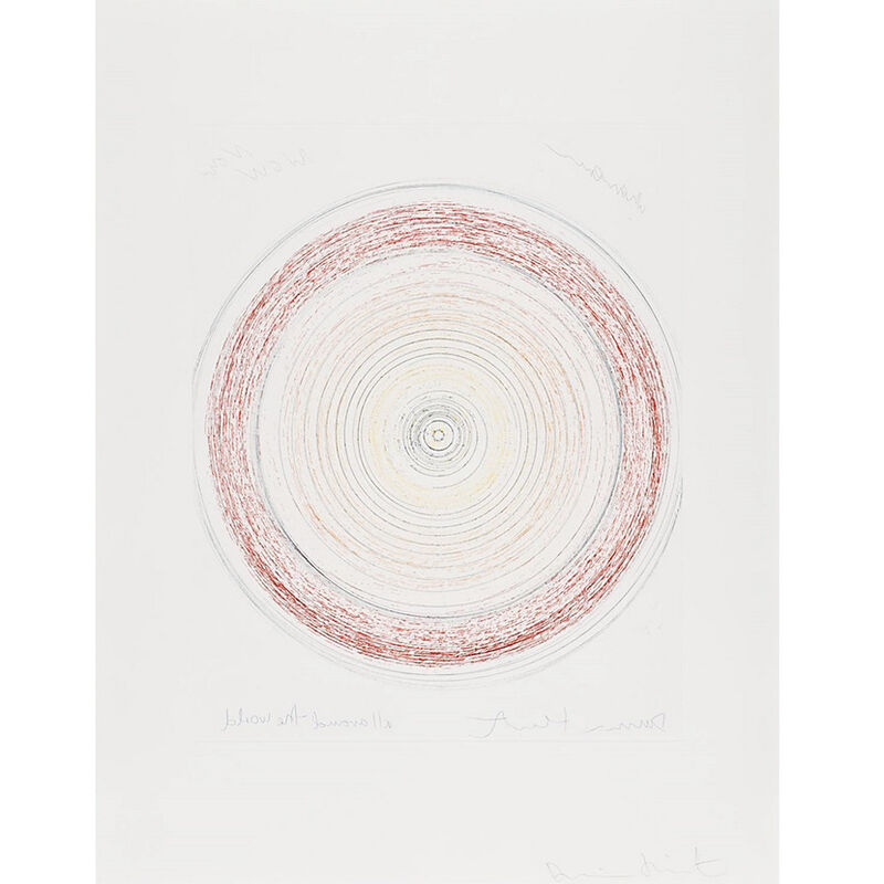 Damien Hirst, 'All Around the World  (from In a Spin, the Action of the World on Things, Volume I)', 2002, Print, Etching in color, Weng Contemporary