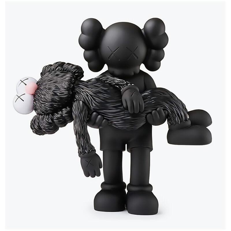 KAWS, 'KAWS GONE Black Companion (KAWS black Gone)', 2019, Sculpture, Vinyl paint, cast resin figurine., Lot 180