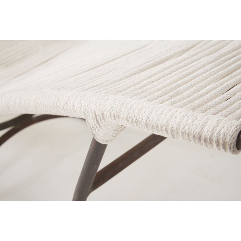 Walter Lamb, 'Pair of Waikiki Lounge Chairs (No. C4720), USA', 1950s, Design/Decorative Art, Bronze, Nylon Rope, Rago/Wright/LAMA
