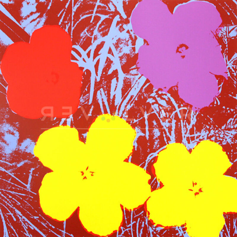 Andy Warhol, 'Flowers (FS II.71)', 1970, Print, Screenprint on Paper, Revolver Gallery