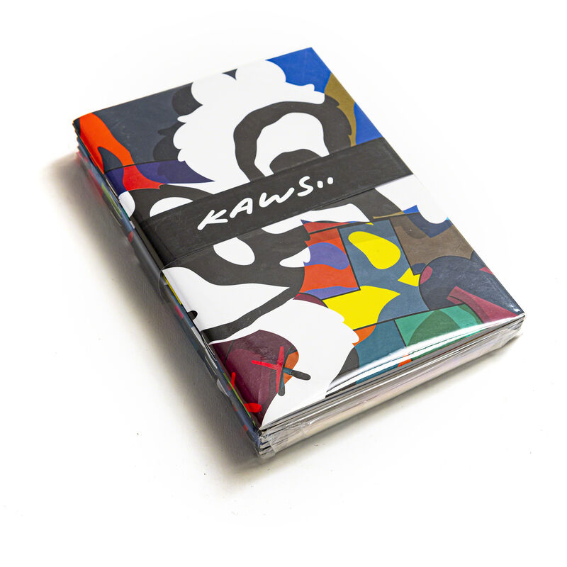 KAWS, 'YSP NOTEBOOKS', 2016, Books and Portfolios, Set of 5 notebooks under blister, DIGARD AUCTION