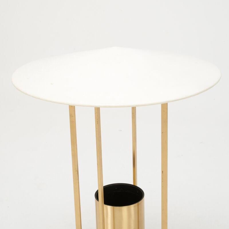 Philip Johnson, 'Floor Lamp, USA', 1954-1967, Design/Decorative Art, Brass, Enameled Aluminum, Plastic, Single Socket, Rago/Wright/LAMA