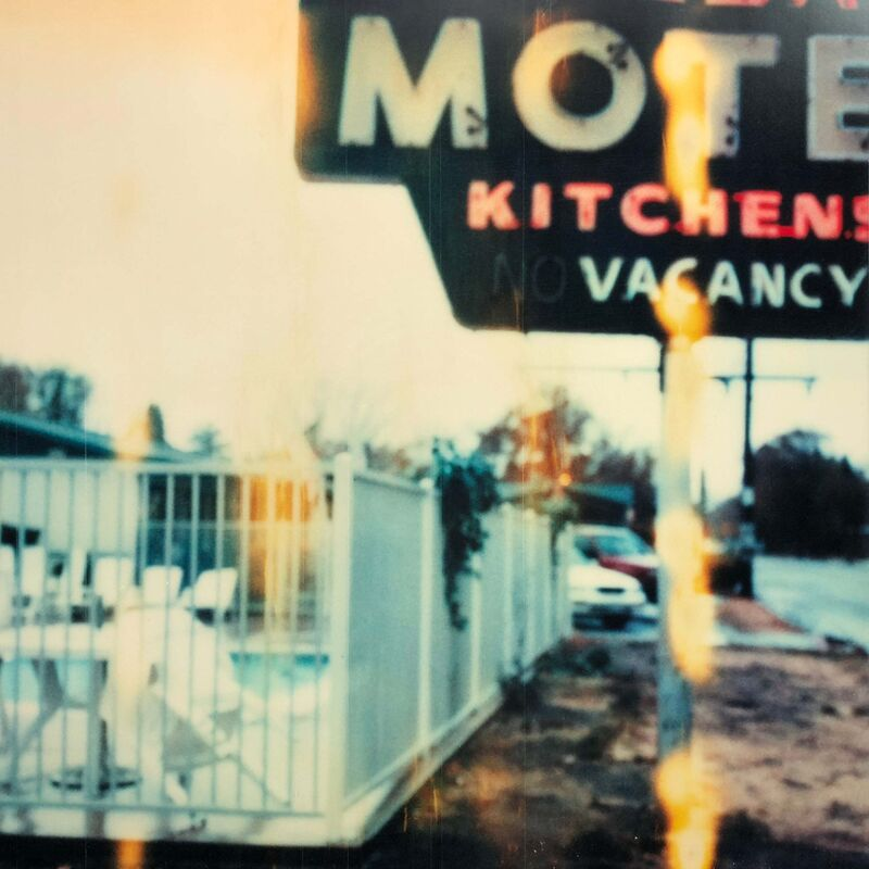 Stefanie Schneider, 'Village Motel, Raining (The Last Picture Show)', 2006, Photography, Analog C-Print, hand-printed by the artist on Fuji Crystal Archive Paper, based on a Polaroid. Not mounted., Instantdreams