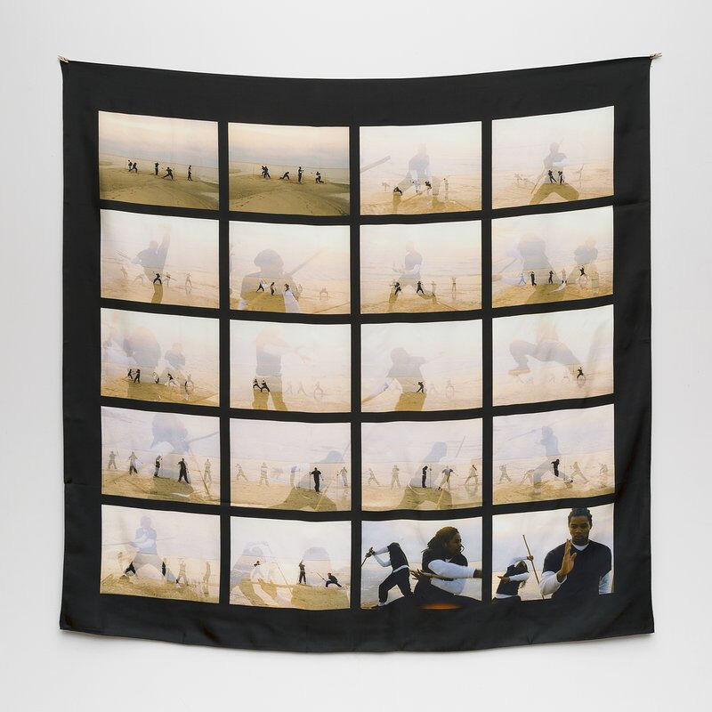 Rashid Johnson, 'The Black Yoga', 2016, Fashion Design and Wearable Art, 100% silk twill, FNG-Art