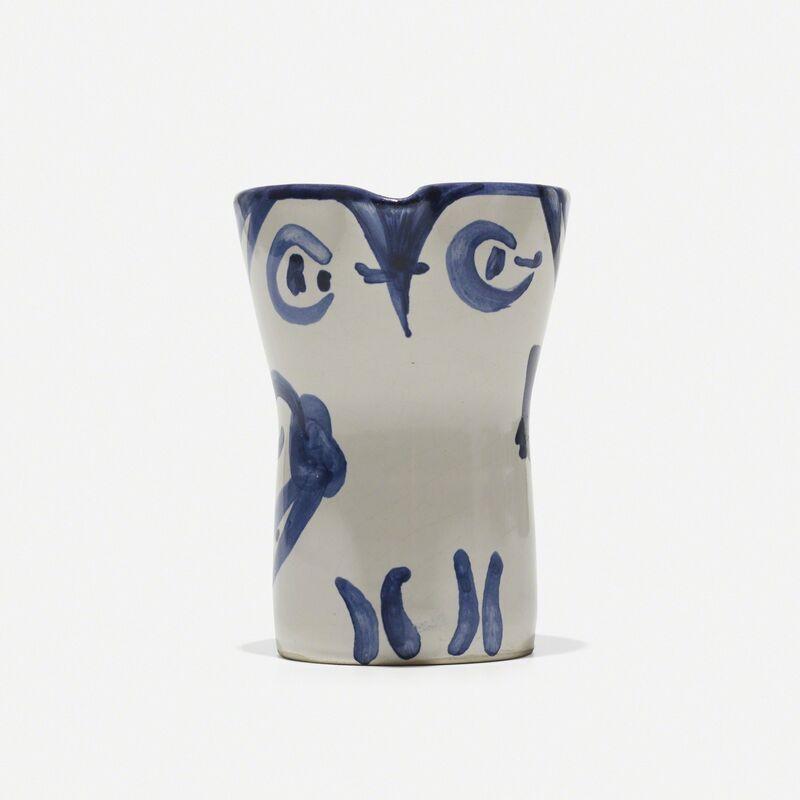Pablo Picasso, 'Hibou', 1954, Sculpture, Glazed stoneware with engobe decoration and enamel, Rago/Wright