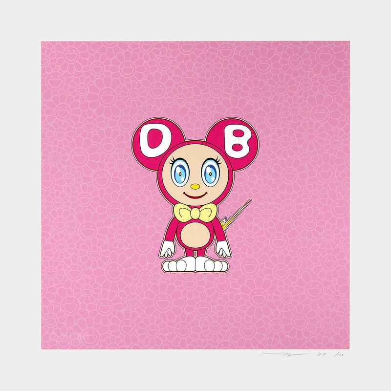 Takashi Murakami, 'Pink DOB', 2020, Print, Color Lithograph, Kumi Contemporary / Verso Contemporary