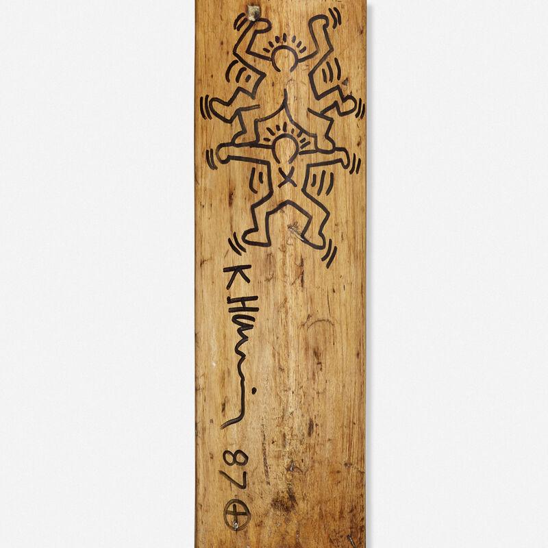 Keith Haring, 'Untitled', 1987, Other, Ink on wood cricket bat, Rago/Wright/LAMA