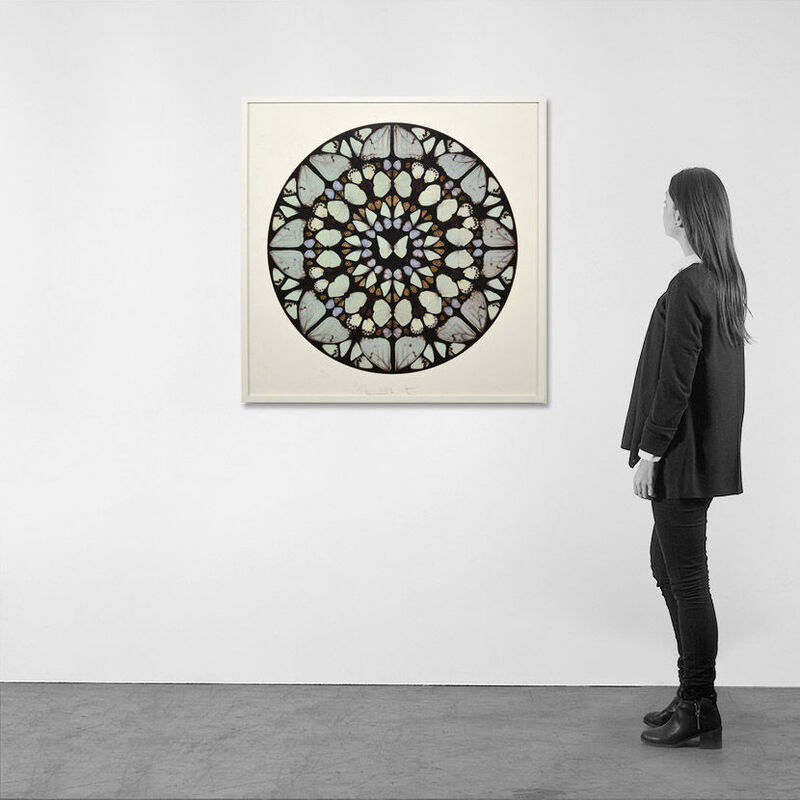 Damien Hirst, 'Psalm: Benedictus Dominus (with Diamond Dust)', 2009, Print, Silkscreen with Diamond Dust, Weng Contemporary