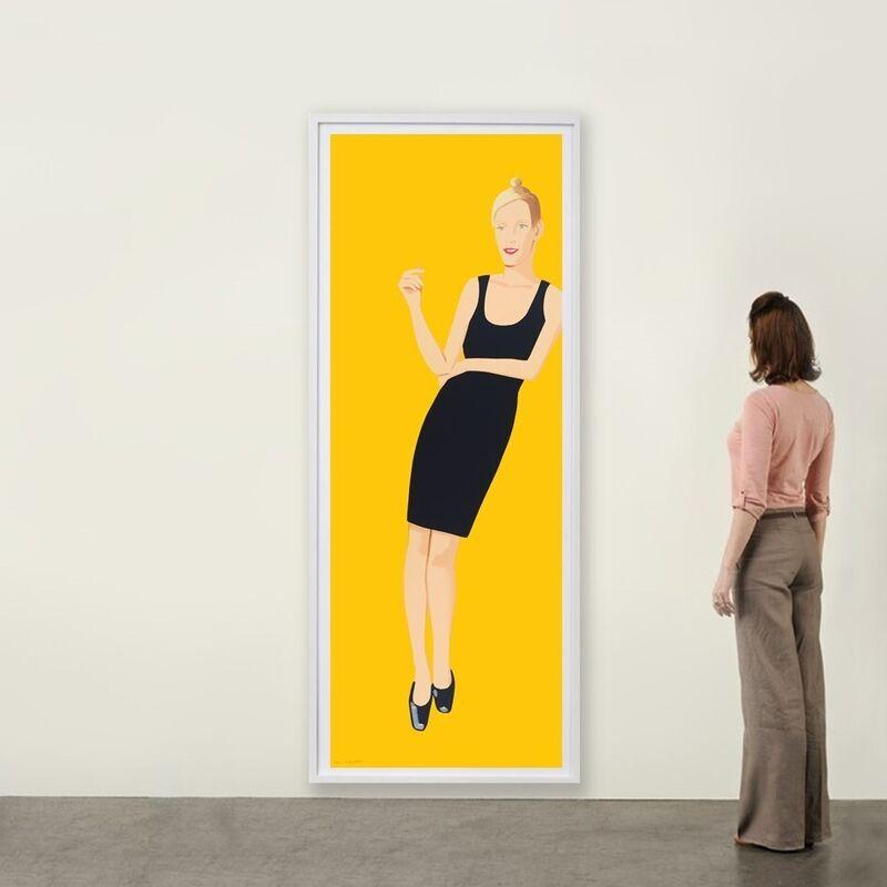 Alex Katz, 'Black Dress (Oona)', 2015, Print, Silkscreen, Weng Contemporary