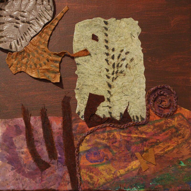 Ann Kronenberg, 'Collage #66: Burnt Skin', Drawing, Collage or other Work on Paper, Carter Burden Gallery
