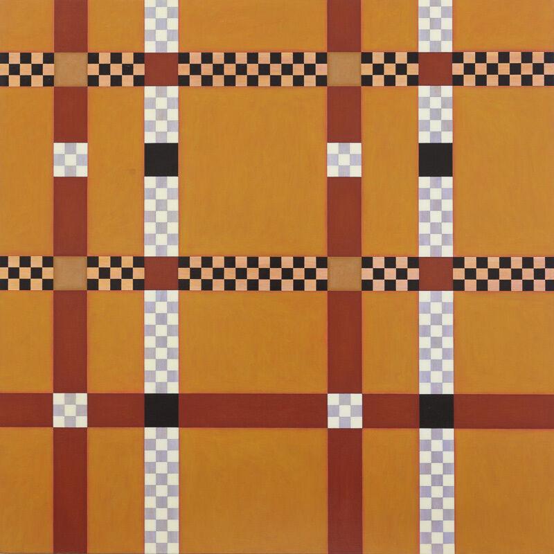 Andrew Christofides, 'Mud Brick', 2006, Painting, Acrylic on canvas, Charles Nodrum Gallery