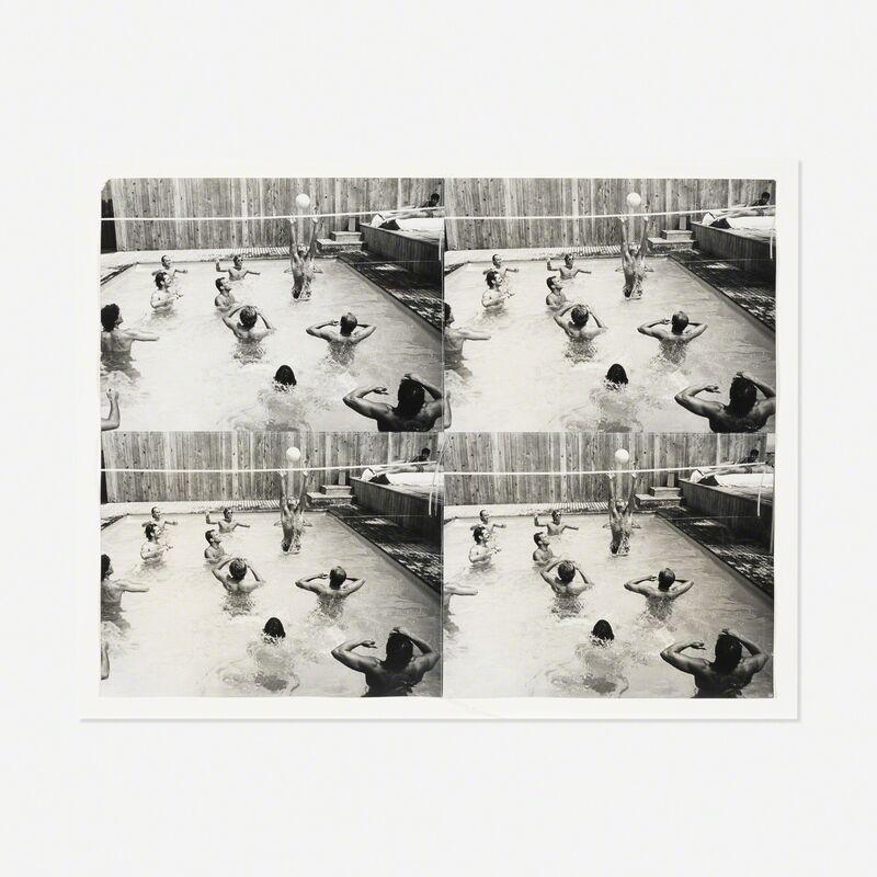 Andy Warhol, 'Pool Party', 1986, Print, Stitched gelatin silver prints, Rago/Wright/LAMA
