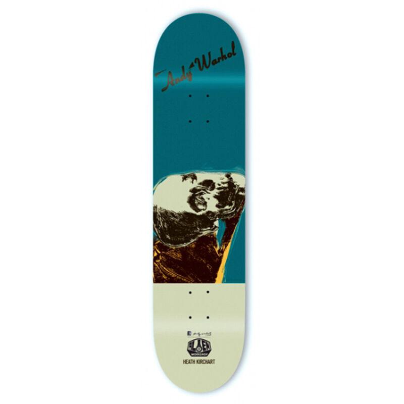 Andy Warhol, 'Warhol Skull Skateboard Deck ', 2010, Ephemera or Merchandise, Silkscreen on maple wood skate deck, Lot 180