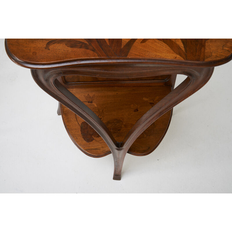 Paul Guth, 'Console Table With Landscape And Flowers By Paul Guth, Rench Tiered Art Nouveau Side Table', Early 20th C., Design/Decorative Art, Stained Beech, Mixed Wood Marquetry, Rago/Wright/LAMA
