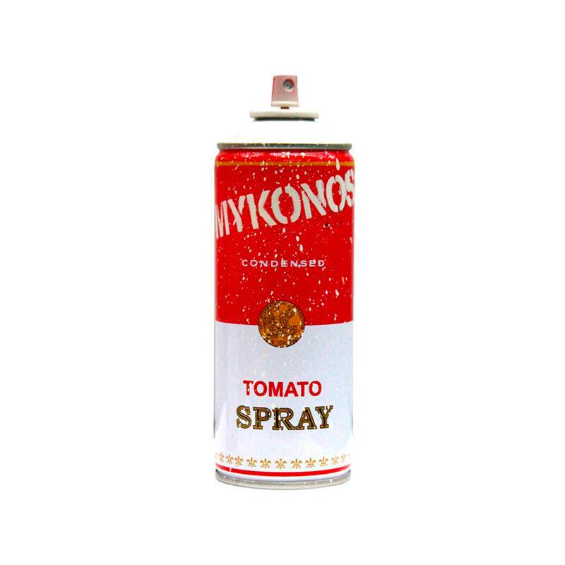Mr. Brainwash, 'Mykonos White Tomato Spray', 2019, Design/Decorative Art, Spray Can, The Art Dose