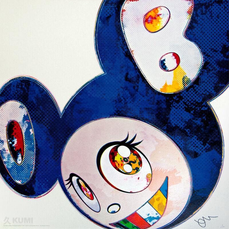 Takashi Murakami, 'And Then x6 Blue', 2013, Print, Lithograph, Kumi Contemporary / Verso Contemporary