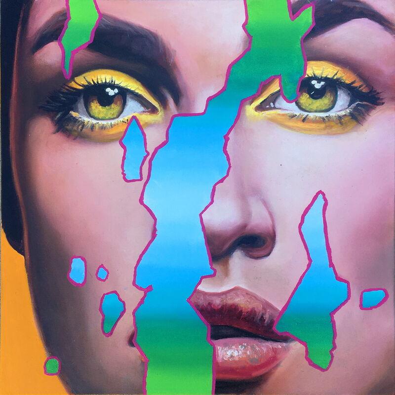 Manzur Kargar, 'Pandemic II', 2020, Painting, Oil on Canvas, HOHMANN
