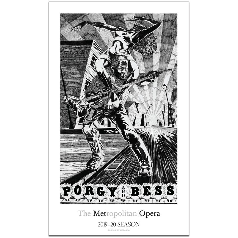 Kerry James Marshall, 'Porgy and Bess', 2019, Posters, Offset lithographic poster, Forum Auctions
