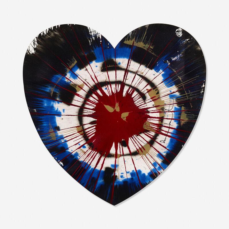 Damien Hirst, 'Heart', 2009, Painting, Acrylic on paper, Rago/Wright/LAMA