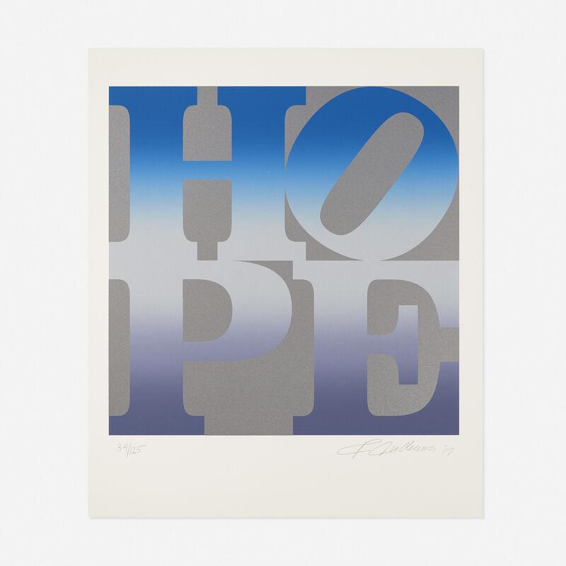 Robert Indiana, 'Winter from the 4 Seasons of Hope portfolio', 2012, Print, Screenprint in colors, Rago/Wright/LAMA