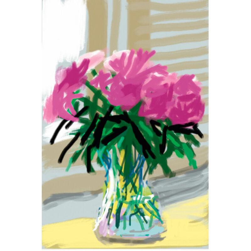 David Hockney, 'No. 535, 28th June, 2009-2019', 2019, Print, 8-colour inkjet print on cotton-fiber archival paper (iPad drawing), Weng Contemporary