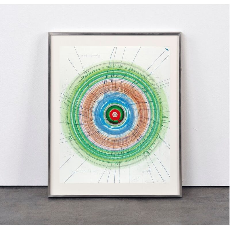 Damien Hirst, 'Twisted in Sobriety', 2006, Print, Aquatint/Pastel on etching, Weng Contemporary
