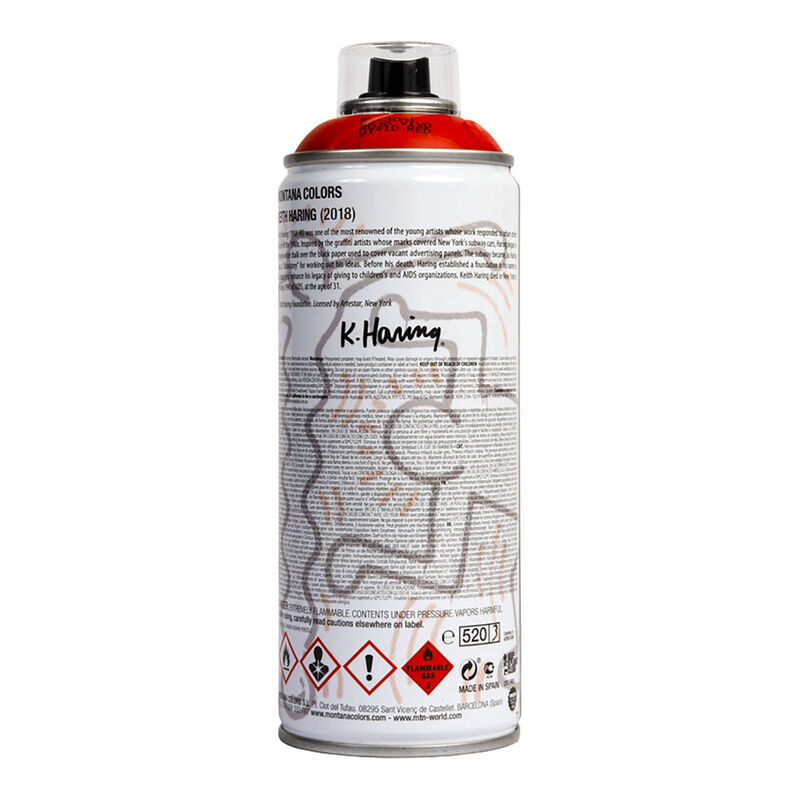 Keith Haring, ' Limited edition Keith Haring spray paint can ', 2018, Ephemera or Merchandise, Offset lithograph on metal spray paint can, Lot 180