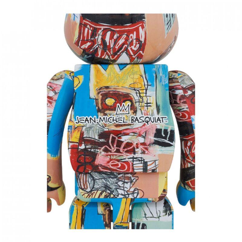 "Jean-Michel Basquiat, '""The King"" V6 Be@rbrick 1000%', 2020, Ephemera or Merchandise, Painted Rotocast Vinyl, artempus"