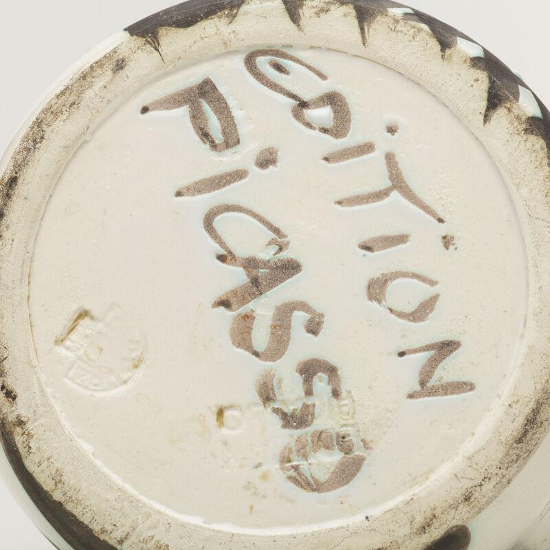 Pablo Picasso, 'Tetes pitcher', 1956, Design/Decorative Art, Glazed earthenware with oxidized paraffin decoration, Rago/Wright