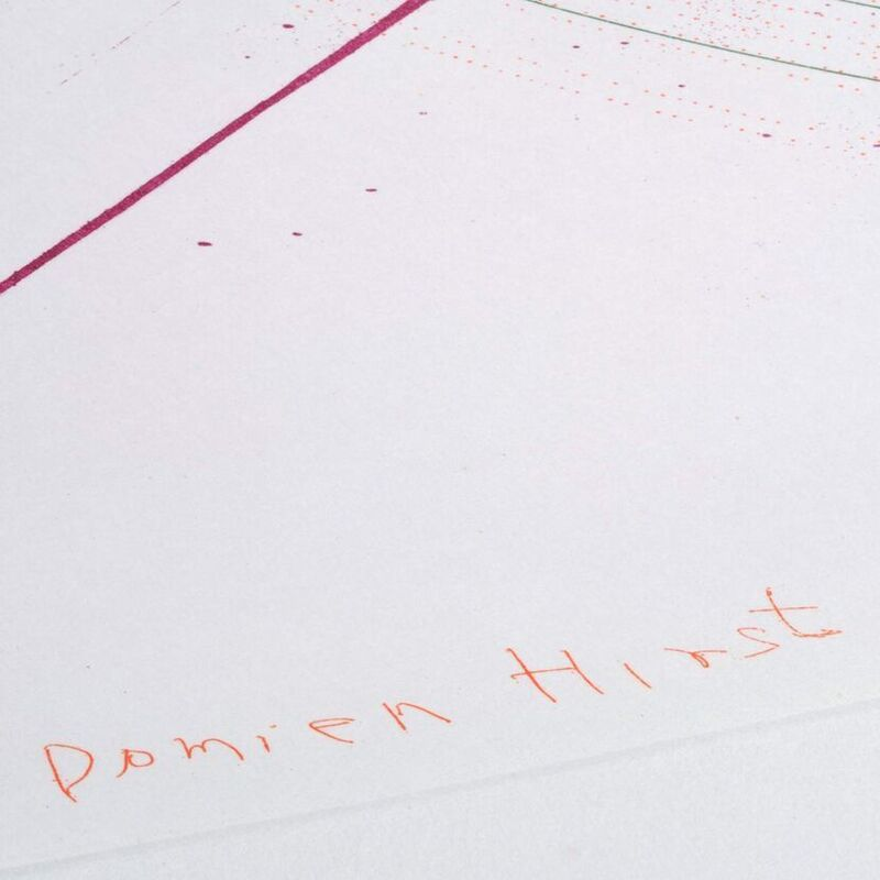 Damien Hirst, 'Damien Hirst, Global-a-go-go-for Joe', 2002, Print, Etching, Oliver Cole Gallery